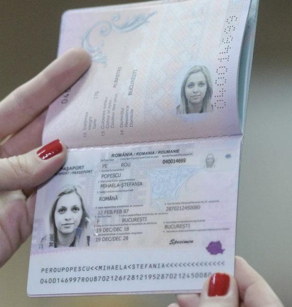 Pasport Romania